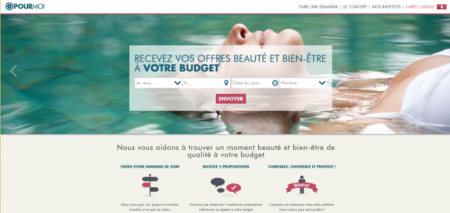 Home Page PourMoi 3